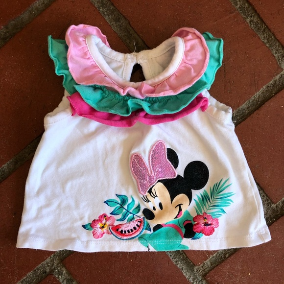 Disney Other - Minnie Mouse Summer Tank